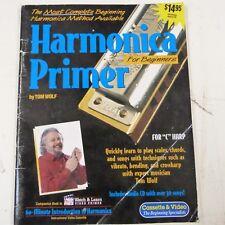 HARMONICA PRIMER FOR BEGINNERS FOR C HARP incl. CD, Tom Wolf