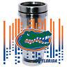 Florida Gators Logo Travel Mug Tumbler Stainless Steel NEW Clear Insert