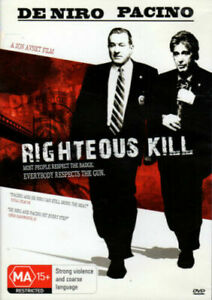 Righteous Kill DVD Robert De Niro Movie Al Pacino - SAME / NEXT DAY POSTAGE