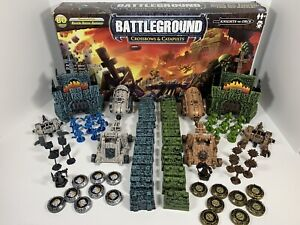 Battleground Crossbows & Catapults Knights v Orcs Starter Set (Nearly Complete)