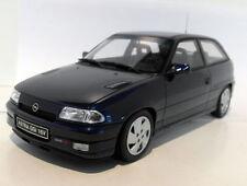 Modellini statici di auto, furgoni e camion blu per Opel
