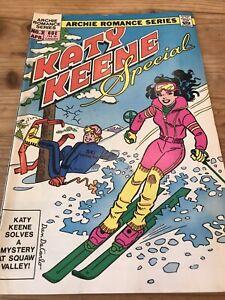 katy keene paper dolls April 1984- Special- No# 3