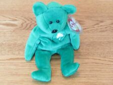 "NEW TY Beanie Baby - ""Erin"" The Bear - 1997 - Retired"