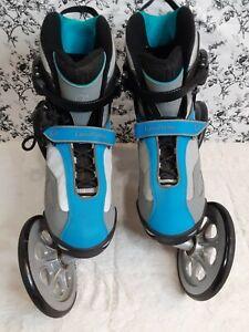 LandRoller Terra 9 Rollerblades Skate Angled Wheel Technology Mens Size 11