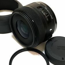 SIGMA 30mm F1.4 DC HSM ART Wide-Angle Prime Lens for Nikon Excellent from Japan