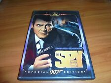 The Spy Who Loved Me (DVD 2004 Widescreen) Roger Moore Used James Bond 007