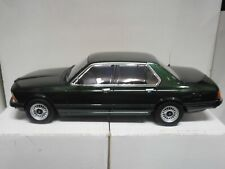 BMW 733i E23 1977 GREEN MET KK-SCALE 1:18
