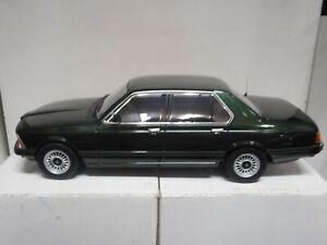 BMW 733i E23 1977 GREEN MET KK-SCALE 1:18