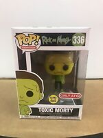 Toxic Morty Funko Pop Target Exclusive