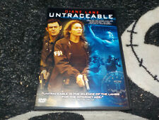 Untraceable DVD Diane Lane Free Shipping