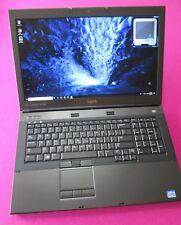 FAST Dell Precision M6600 Intel I7-2820qm 2.3-3.4Ghz 8GB ram 500GB W10 AMD M6100