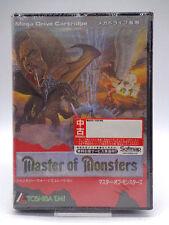 Mega Drive-Master of Monsters (NTSC-jp import) (con embalaje original) 10830796