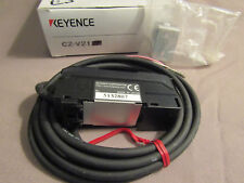 Keyence CZ-V21 fiber optic RGB color sensor amplifier