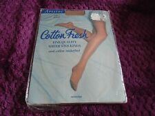 Aristoc cotton fresh 20 denier stockings size 1 in Allure