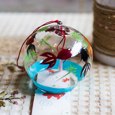 2 pcs JAPANESE Traditional Glass Furin wind Bell wind Chime six fish