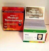 Mosby's Medical Terminology Flash Cards by Mosby Publishing Staff (2006,...
