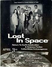 Lost In Space Sci-Fi Poster 1998 w/ Cast Photo Hollywood Entertainment Museum