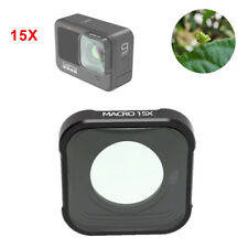 15X Macro Close Up Hd Lens Filter for Gopro Hero 9 Black Camera Accessories