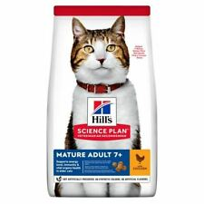 Hills Science Plan Mature Adult 7+ Cat Dry Food Supports Energy Level Older Cat