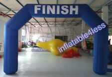 20ft Blue Inflatable Arch Archway w/Fan IN STOCK! BEST DEAL EVER!!