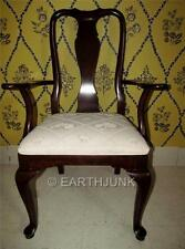 Ethan Allen Georgian Court Cherry Queen Anne Dining Room Arm Chair 11 6211