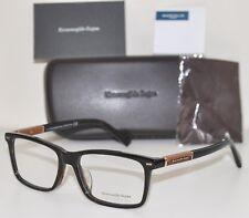 Ermenegildo Zegna Eyeglasses EZ 5037-F 052 Dark Havana RX Frame New 58mm Large