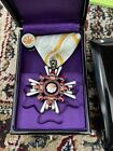 Used Japanese Order of the Sacred Treasure 8th Class & 5th Class 2 set Military
