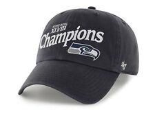 e6558f59de088 Seattle Seahawks  47 Brand NFL Super Bowl XLVIII Champs Football Cap Hat  Navy
