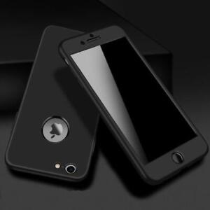 Case For Apple iPhone X 8 7 PLUS Hybrid 360° New Shockproof Tempered Glass Cover