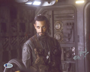 RIZ AHMED SIGNED AUTOGRAPHED 8x10 PHOTO BODHI ROGUE ONE STAR WARS BECKETT BAS