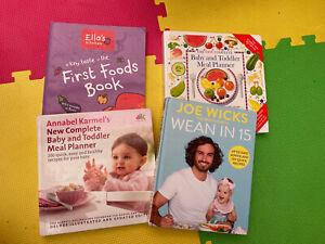 Bundle of Baby Weaning Recipe Books Joe Wicks Annabelle Karmel