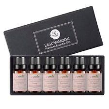 Set De Regalo De Aceites Esenciales Grado Terapéutico Aromaterapia Lagunamoon