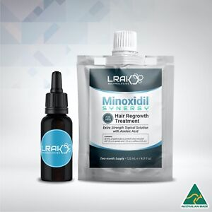 Minoxidil SYNERGY 5% Extra Strength Solution For Men  + Dropper Bottle   120 mL