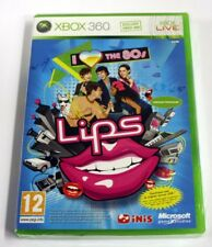 jeu xbox 360   Lips 80s  Party Classics   vf neuf blister
