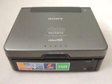 SONY GV-A500E PAL HI8 8MM VIDEO WALKMAN VCR WORK GRT 4 8MM TO TRANSFER VIDEO DVD