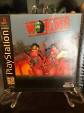Worms (PlayStation 1) Disc And manual Only