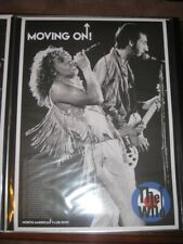 The Who Moving On Poster and Concert VIP Laptop Messenger Bag, Picks, Lanyard