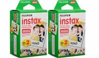 40 prints of Fujifilm instax mini instant film For Fuji 8 & 9 Camera