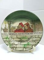 Royal Doulton Monk Man Small Plate The Solemnly Cursed That Rascalln Thief