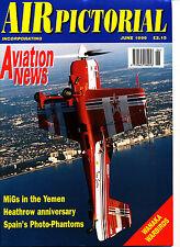 AIR PICTORIAL 1996/06 JUN RMPA,Heathrow 50,Macau,JUN EdA RF-4C,H Tomtit,Spitfire