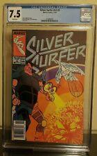 Graded Comic - Silver Surfer v3 #5 Nov 1987 Marvel Comics CGC 7.5 VF-