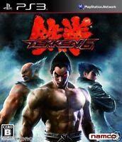 Used PS3 Tekken 6 SONY PLAYSTATION 3 JAPAN JAPANESE IMPORT