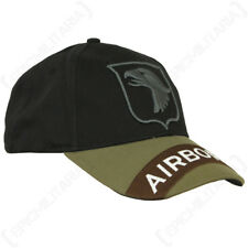 US Screaming Eagles Baseball Cap - American Sun Peak Hat Military Army Soldier