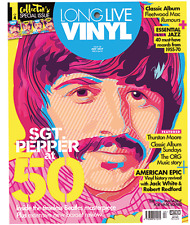 Long Live Vinyl Magazine #4 The Beatles Ringo Starr Fleetwood Mac Jack White NEW