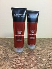 John Frieda Radiant Red Colour Protecting Shampoo 8.45 oz, Lot of 2.