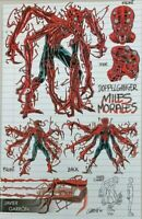 ABSOLUTE CARNAGE MILES MORALES #1 YOUNG GUNS DOPPELGANGER GARRON NM 2019
