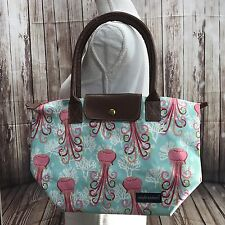New Simply Southern Shirt Collection Utility Tote Bag Handbag Purse Jelly Fish