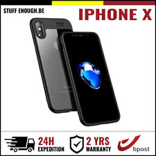 iPhone X Auto Focus Armor Cover Cas Coque Etui Silicone TPU Hoesje Case Black