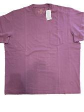 Territory Ahead Men's Short Sleeve Pocketed T-Shirt New Purple Haze Crew XXL