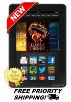 "NEW Amazon Kindle Fire HDX 7"" Tablet (3rd Generation) HD Display 7 Wi-Fi 16 GB"